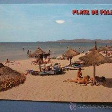 Postales: POSTAL DE PALMA MALLORCA, ISLAS BALEARES. AÑO 1984. PLAYA DE PALMA. 310 . Lote 32500663