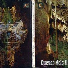 Postales: POSTAL - TIRA-ALBUM-LIBRILLO ACORDEON 10 POSTALES CUEVAS DELS HAMS - MALLORCA. Lote 32506191