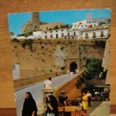 Postales: IBIZA - MURALLAS / SIN CIRCULAR / EDI. CASA FIGUERETAS. Lote 32545221