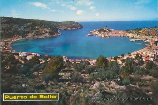 POSTAL - PUERTO DE SOLLER - MALLORCA - ICARIA - 6019 (Postales - España - Baleares Moderna (desde 1.940))