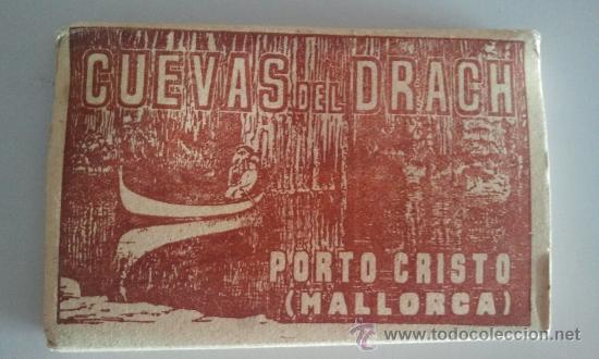 ACORDEÓN FOTOGRÁFICO DE LAS CUEVAS DEL DRACH : 14 FOTOGRAFÍAS (Postales - España - Baleares Antigua (hasta 1939))