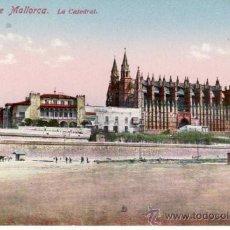 Postales: POSTALES. CATEDRAL. PALMA DE MALLORCA. BALEARES. ESPAÑA. RASTRILLO PORTOBELLO.. Lote 32625108