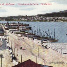 Postales: POSTALES. VISTA GENERAL DEL PUERTO. PALMA DE MALLORCA. BALEARES. ESPAÑA. RASTRILLO PORTOBELLO.. Lote 32625654