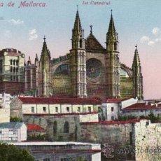 Postales: POSTALES. VISTA DE LA CATEDRAL. PALMA DE MALLORCA. BALEARES. ESPAÑA. RASTRILLO PORTOBELLO.. Lote 32625703