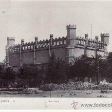 Postales: POSTAL FOTOGRÁFICA HISTÓRICA. COCHE DE CABALLOS. POSTES TELEFONICOS LONJA. PALMA DE MALLORCA. ESPAÑA. Lote 32794629
