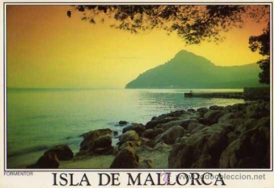 MALLORCA FORMENTOR A. MURILLO SIN CIRCULAR (Postales - España - Baleares Moderna (desde 1.940))