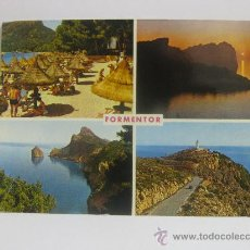 Postales: FORMENTOR, MALLORCA (ISLAS BALEARES) T429. Lote 33056754