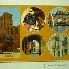 Postales: IBIZA (BALEARES) 555 EXCLUSIVAS CASA FIGUERETAS. Lote 33081543