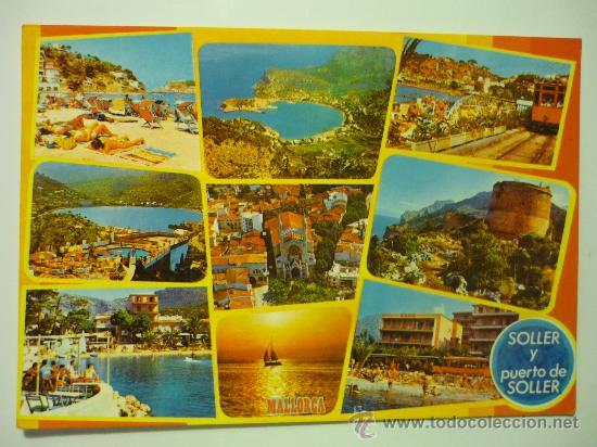 SOLLER Y PUERTO DE SOLLER - MALLORCA - ICARIA NUM. 6014 (Postales - España - Baleares Moderna (desde 1.940))