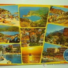Postales: SOLLER Y PUERTO DE SOLLER - MALLORCA - ICARIA NUM. 6014. Lote 33141837