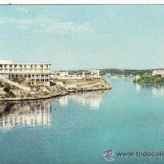Postales: +-+ PV202 - MAHON - MENORCA - VISTA PARCIAL DEL PUERTO - HOTEL CARLOS III. Lote 33367102