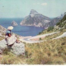 Postales: EL COLOMER. FORMENTOR. MALLORCA. ISLAS BALEARES. ESPAÑA. COLECCIONISMO. RASTRILLO PORTOBELLO. Lote 33502788