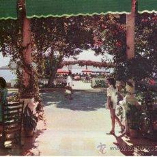 Postales: PUERTO POLLENSA. TERRAZA HOTEL MIRAMAR. MALLORCA. ISLAS BALEARES. ESPAÑA. COLECCIONISMO.. Lote 33502838