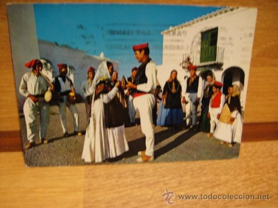 IBIZA SAN MIGUEL - CIRCULADA - EXCLUSIVAS CASA FIGUERETAS (Postales - España - Baleares Moderna (desde 1.940))
