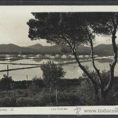 Postales: IBIZA - 43 - LAS SALINAS - FOT. VIÑETS - (11.308). Lote 33711413