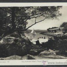 Postales: IBIZA - 47 - SAN ANTONIO ABAD . PLAYA GRASSIO - FOT. VIÑETS - (11.309). Lote 33711434