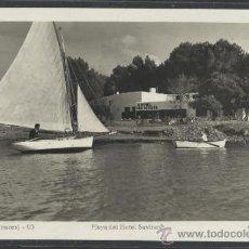 Postales: IBIZA - 93- PLAYA DEL HOTEL SAVINAS - FOT. VIÑETS - (11.311). Lote 33711454