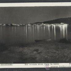Postales: IBIZA - 58- SAN ANTONIO ABAD . VISTA DE NOCHE - FOT. VIÑETS - (11.313). Lote 33711478