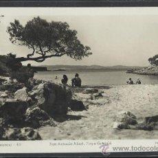 Postales: IBIZA - 48 - SAN ANTONIO ABAD, PLAYA GRASSIO - FOT. VIÑETS - (11.318). Lote 33711574