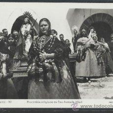 Postales: IBIZA - 10 - PROCESION RELIGIOSA EN SAN ANTONIO ABAD - FOT. VIÑETS - (11.323). Lote 33711650