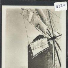 Postales: IBIZA - 36 - MOLINO DE VIENTO Y VISTA DE LA CIUDAD - FOT. VIÑETS - (11.324). Lote 33711660