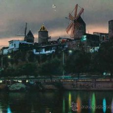 Postales: POSTAL - VISTA NOCTURNA MOLINOS JONQUET - FOTO CASA PLANES 1190 . Lote 33961231