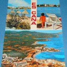 Postales: POSTAL DE IBIZA, ISLAS BALEARES. AÑOS 1976. ES CANA 733 . . Lote 34002337