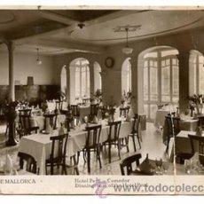 Postales: TARJETA POSTAL *HOTEL PERÚ - COMEDOR · DININGROOM OF THE HOTEL PERÚ* PALMA DE MALLORCA. Lote 34296185