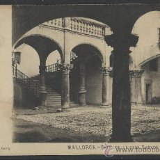 Postales: MALLORCA - PATIO DE LA CASA SUREDA - J . TRUYOL FOTOGRAFO - (11.680). Lote 34299711