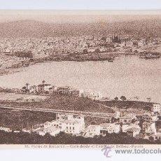 Postales: POSTAL PALMA MALLORCA Nº 16, VISTA DESDE CASTILLO BELLVER PUERTO. Lote 34638497