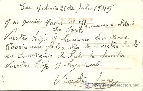 Postales: IBIZA (BALEARES) Nº 74 - TORRE DEL PIRATA. VEDRANELL Y VEDRÁ - VIÑETS - MANUSCRITA SIN CIRCULAR - Foto 2 - 34937039