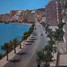Postales: PASEO MARITIMO PALMA DE MALLORCA.AÑOS 60.15X21CM.. Lote 35005347