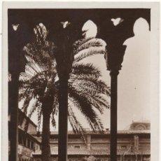 Postales: PALMA DE MALLORCA.- CLAUSTROS DE LA IGLESIA DE SAN FRANCISCO.. Lote 35119422