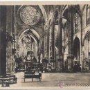 Postales: PALMA DE MALLORCA.- CATEDRAL (INTERIOR).. Lote 35119935