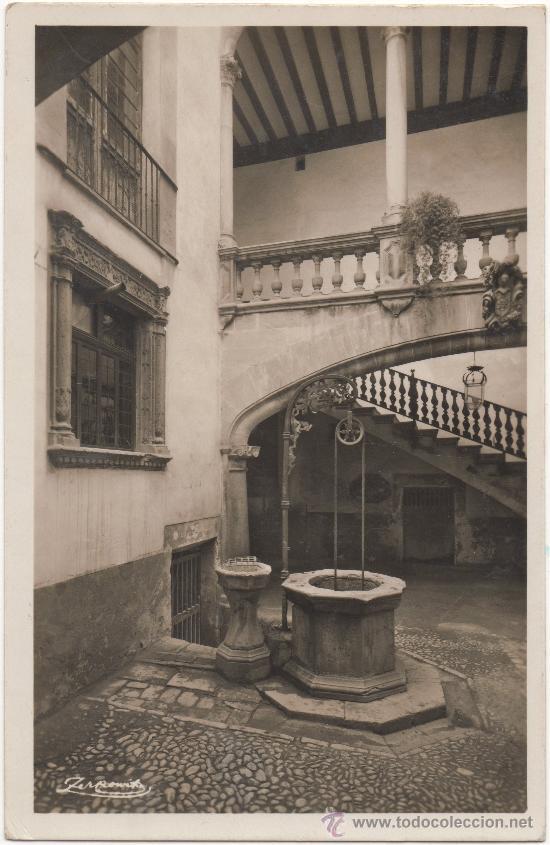 PALMA DE MALLORCA.- PATIO DE LA CASA OLEZA. (C.1935). (Postales - España - Baleares Antigua (hasta 1939))