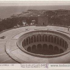Postales: PALMA DE MALLORCA.- VISTA DESDE EL CASTILLO BELLVER.. Lote 35120538