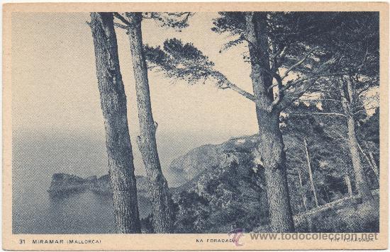 MIRAMAR (MALLORCA).- SA FORADADA. (Postales - España - Baleares Antigua (hasta 1939))