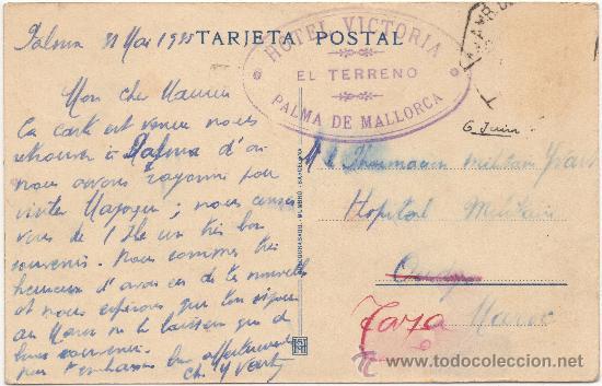 Postales: MALLORCA.- SANTUARIO DE NUESTRA SEÑORA DE LLUCH. ``TORRENT DE PAREYS´´ JUNTO A SU DESEMBOCADURA. - Foto 2 - 35191249