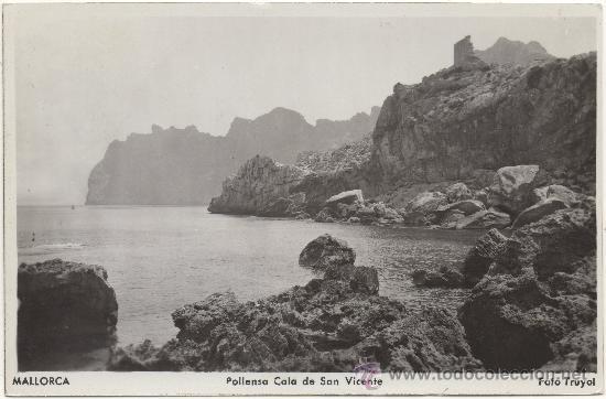 MALLORCA.- POLLENSA. CALA DE SAN VICENTE. (Postales - España - Baleares Moderna (desde 1.940))