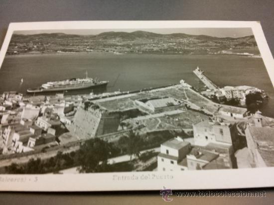 POSTAL IBIZA ENTRADA PUERTO CIRCULADA ED VIÑETS (Postales - España - Baleares Moderna (desde 1.940))