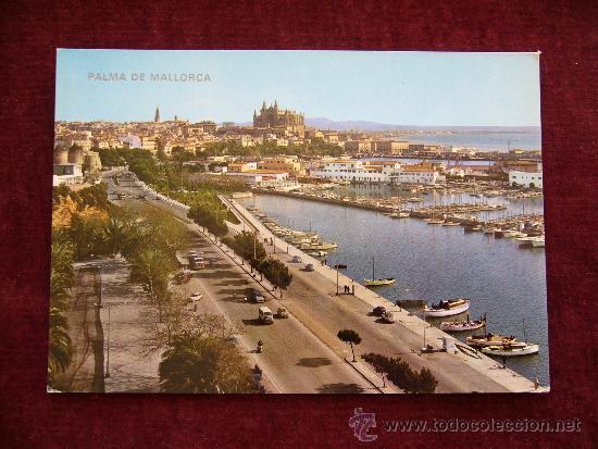 POSTAL 10058. PALMA DE MALLORCA. PASEO MARÍTIMO. ICARIA. (Postales - España - Baleares Moderna (desde 1.940))