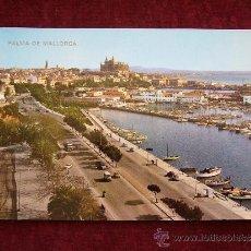 Postales: POSTAL 10058. PALMA DE MALLORCA. PASEO MARÍTIMO. ICARIA.. Lote 35777947