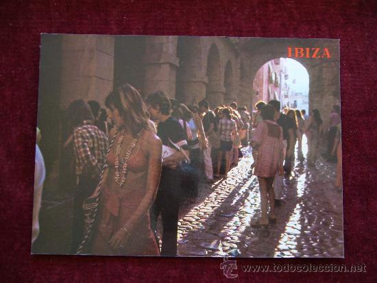 POSTAL 4951. IBIZA. CALLE TÍPICA. AÑO 1978. COL. PERLA. (Postales - España - Baleares Moderna (desde 1.940))