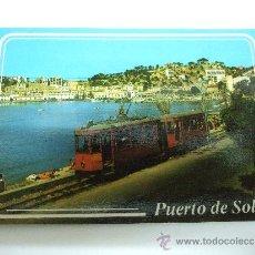 Postales: POSTAL MALLORCA - SOLLER - DETALLE DEL PUERTO - TRANVIA - 1986 - NO CIRCULADA. Lote 35783109