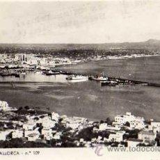 Postales: PALMA DE MALLORCA Nº 109 VISTA PANORÁMICA ESCRITA CIRCULADA SELLO POSTAL FOTOGRÁFICA . Lote 35809869