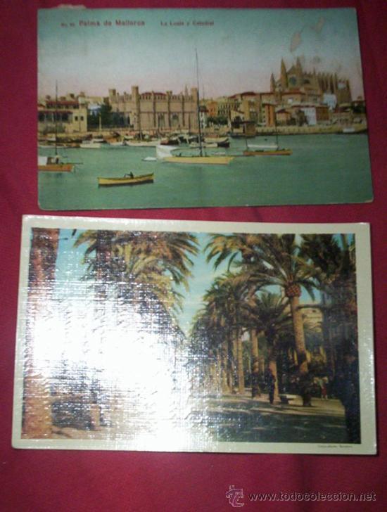 2 POSTALES MALLORCA (Postales - España - Baleares Moderna (desde 1.940))