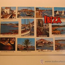 Postales: IBIZA (ISLAS BALEARES), CIRCULADA, T5321. Lote 36451345
