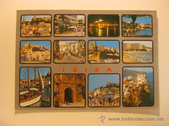 IBIZA (ISLAS BALEARES), CIRCULADA, T5322 (Postales - España - Baleares Moderna (desde 1.940))