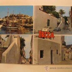 Postales: IBIZA (ISLAS BALEARES), CIRCULADA, T5346. Lote 36451442
