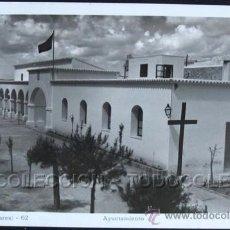 Cartes Postales: POSTAL IBIZA BALEARES AYUNTAMIENTO . VIÑETS CA AÑO 1940-50 .. Lote 36893099